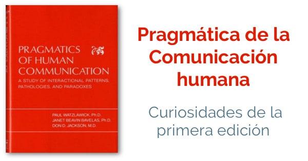 pragmática de la comunicación humana