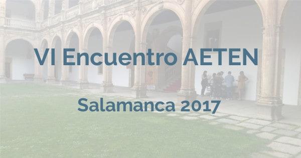 Encuentro AETEN 2017
