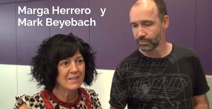 Marga Herrero y Mark Beyebach