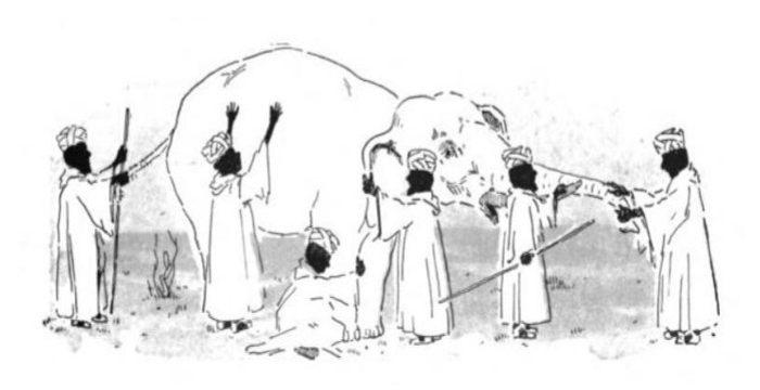 """Metáforas Sistémicas VI: """"Un elefante es esto"""""""