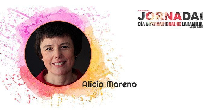 Alicia Moreno en la Jornada del Día de la Familia 2019