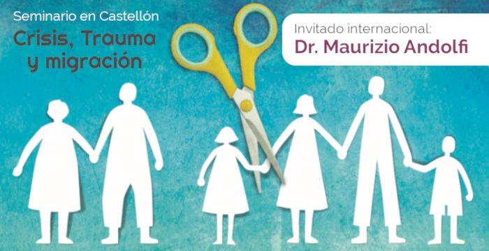 """Seminario """"Crisis, trauma y migración"""" con Maurizio Andolfi"""