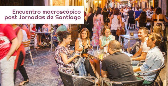 Encuentro macroscópico en las Jornadas de Santiago