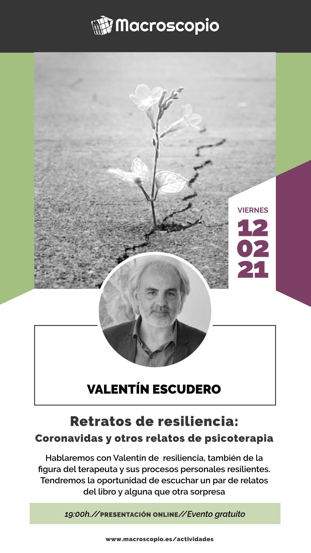 Retratos de resiliencia evento en Macroscopio